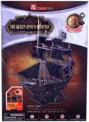 Shantou Anna Királynő bosszúja hajó 3D 155 db