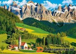 Trefl Az olaszországi Dolomitok 500 db-os (37189)