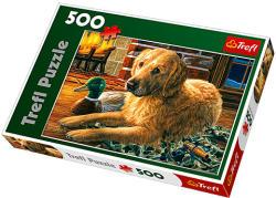 Trefl Kutya a kandallónál 500 db-os (37165)