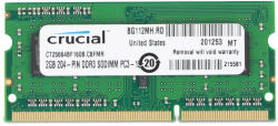 Crucial 2GB DDR3 1600MHz CT25664BF160B