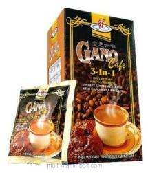 GanoCafe Ganoderma tartalmú kávé 3in1, 20 x 21g