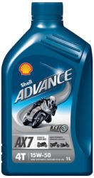 Shell Advance AX7 4T 15w-50 1L