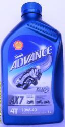 Shell Advance AX7 4T 10w-40 1L