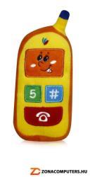 Lorelli Plüss mobiltelefon Sárga/narancssárga