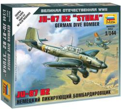 Zvezda Junkers Ju-87 Stuka 1/144 6123