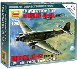 Zvezda Junkers Ju-52 1/200 6139