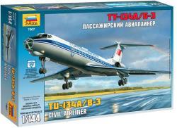 Zvezda Tupolev Tu-134B 1/144 7007