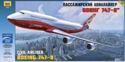 Zvezda Boeing 747-8 1/144 7010