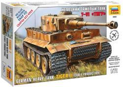 Zvezda Tiger I 1/72 5002