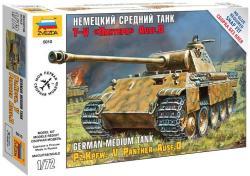 Zvezda Panzerkampfw. V Panther Ausf. D 1/72 5010