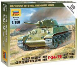 Zvezda T-34 1/100 6101