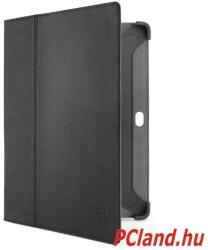 Belkin Tri-Fold Leather Folio for Galaxy Tab 2 10.1 - Black (F8M393CWC00)