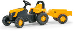 Rolly Toys Tractor Cu Pedale Si Remorca 012619