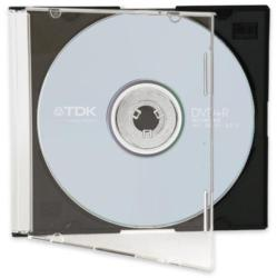 TDK DVD+R 4.7GB 16x - vékony DVD tok DVD+R47SLID