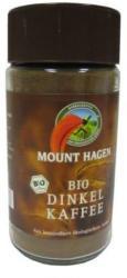 Mount Hagen Bio tönköly kávé, instant. 100gr