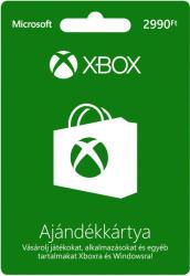 Microsoft Xbox Live Card 2990 HUF