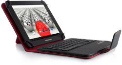 "MODECOM Tablet Folio with Bluetooth Keyboard 7""-8"" - Black/Red (TKC08BT)"