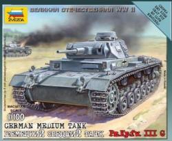 Zvezda Panzer III 1/100 6119