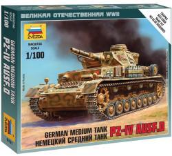 Zvezda Pz.IV Ausf.D 1/100 6151