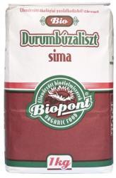 Biopont Bio durumbúzaliszt sima 1kg