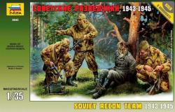 Zvezda Soviet Reconnaissance Team 1/35 3643