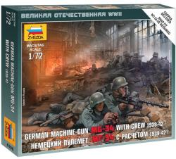 Zvezda German Machinegun Crew 1941 1/72 6106