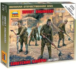 Zvezda Soviet Engineers WWII 1/72 6108