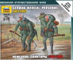 Zvezda German Medical Personnel 41-43 1/72 6143