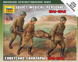 Zvezda Soviet Medical Personnel 41-42 1/72 6152
