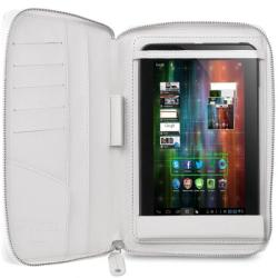 "Prestigio Universal Case & Stand with Zip Closure 7"" - White (PTCL0107A_WH)"