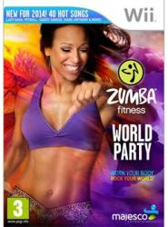 Majesco Zumba Fitness World Party (Wii)