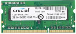 Crucial 2GB DDR3 1600MHz CT25664BF160B
