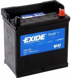 Exide Excell 45Ah EN 330A EB450