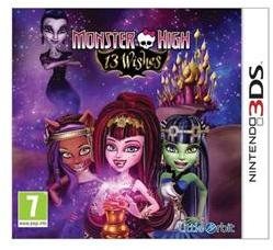 Namco Bandai Monster High 13 Wishes (3DS)