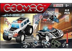 Geomag Wheels - Police Squad - 68db