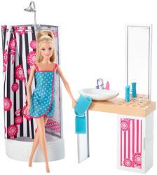 Mattel Barbie fürdőszobája babával