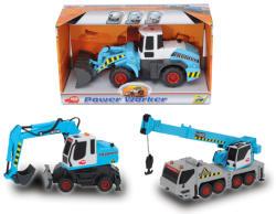 Dickie Toys Power Worker munkagépek - 3 változatban (3414782)