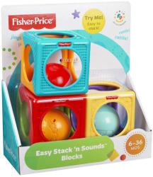Fisher-Price Csörgő színes építőkockák (Y6977)