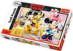 Trefl Mickey egér és barátai Mókás délután 160 db-os (15237)