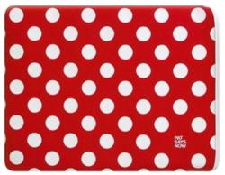Pat Says Now Red Polka Dot Pouch for iPad