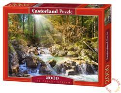 Castorland Erdei patak 2000 db-os (C-200382)