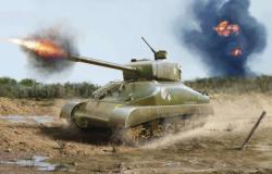 Revell M4A1 Sherman 1/72 3196