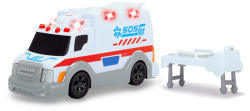 Dickie Toys 15 cm-es Szirénás mentőautó (203302004)