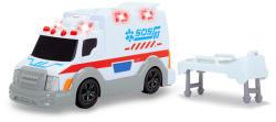 Dickie Toys 15 cm-es Szirénás mentőautó
