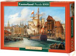 Castorland Hajó a Gdansk-i öreg kikötőben 1000 db-os (102914)