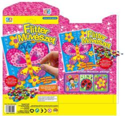 Creative Kids Flitter művészet - pillangó