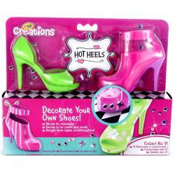 Crayola Creations Cipőtervező 2db-os zöld-rózsaszín