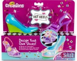 Crayola Creations Cipőtervező 2db-os világoskék-lila