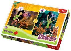 Trefl Scooby Doo Hátborzongató 70+100 db-os (34144)