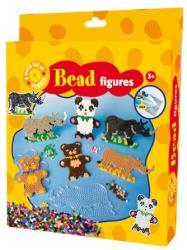 Playbox Vasalható gyöngyök - medve és orrszarvú készlet